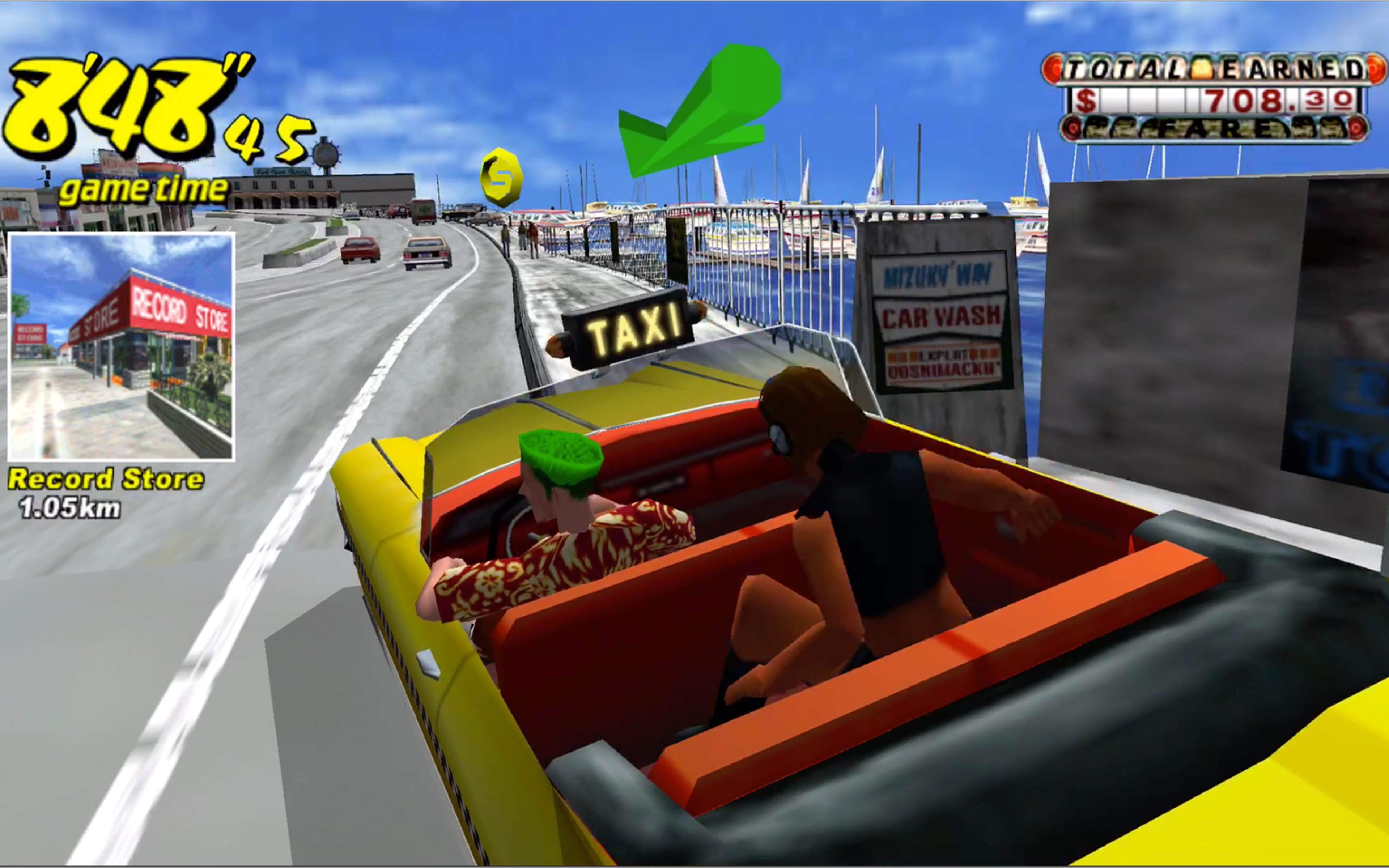 تحميل لعبة crazy taxi 3