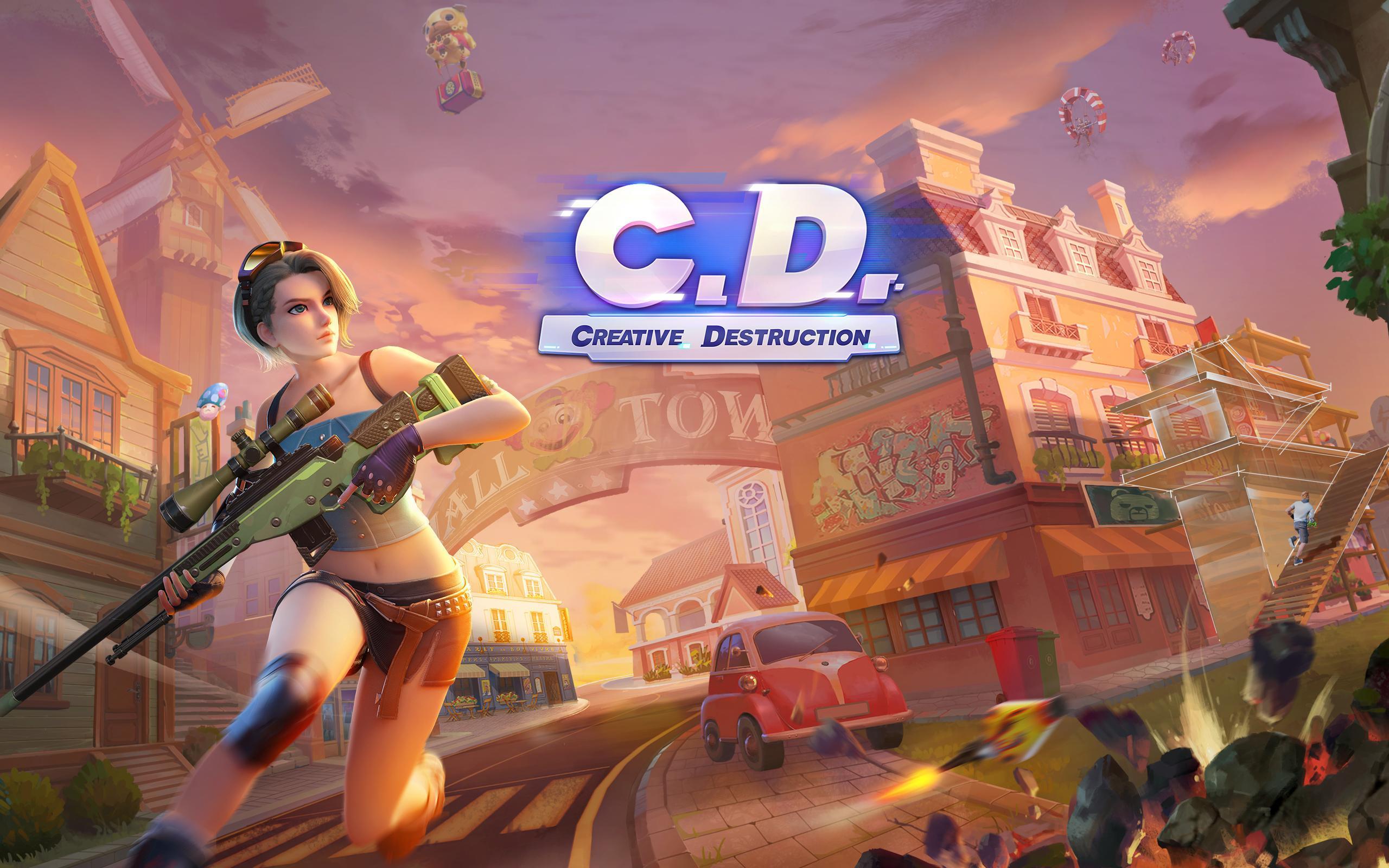 رابط تحميل لعبة creative destruction